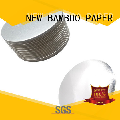 NEW BAMBOO PAPER boards gold cake boards long-term-use for paper bags