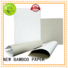NEW BAMBOO PAPER new-arrival duplex cardboard for crafts