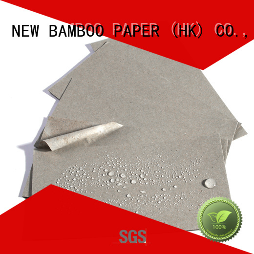 NEW BAMBOO PAPER sheets coated paper roll  manufacturer for sheds packaging