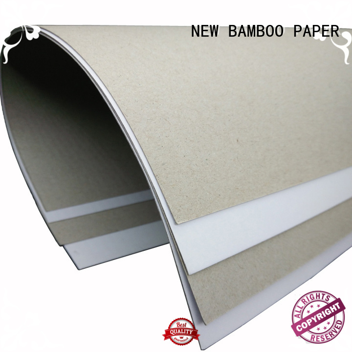 nice duplex cardboard white bulk production for box packaging