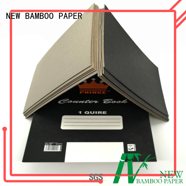 NEW BAMBOO PAPER nice black cardboard order now for booking binding