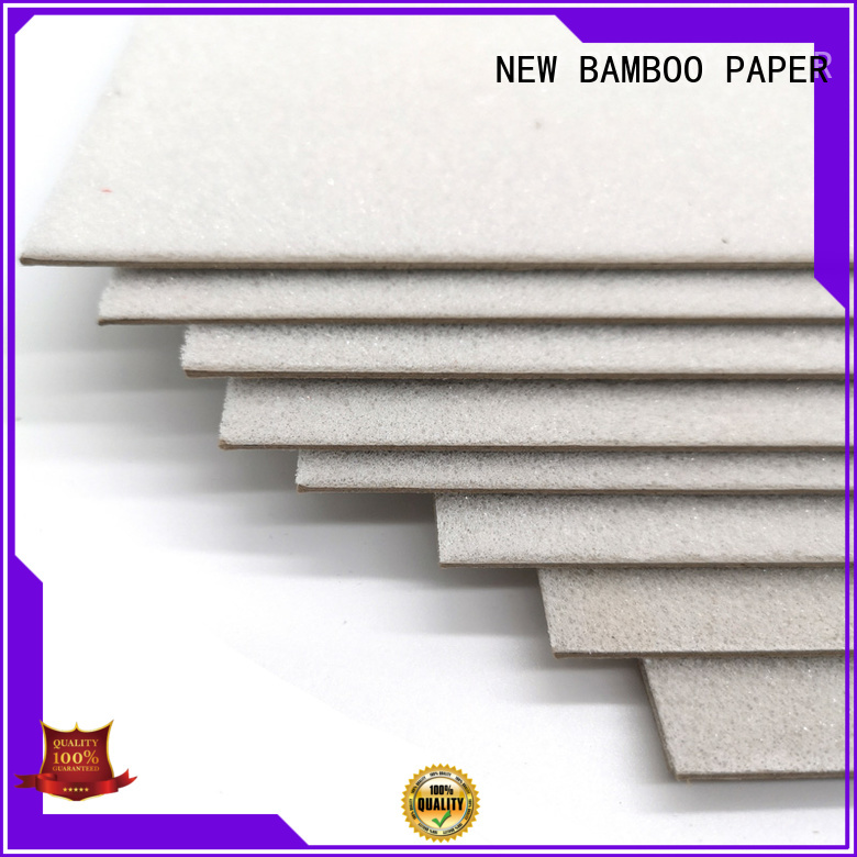 NEW BAMBOO PAPER good-package large foam board check now for hardcover books
