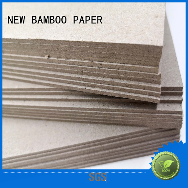NEW BAMBOO PAPER nice carton gris 2mm factory price for arch files