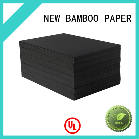 NEW BAMBOO PAPER shopping black cardboard paper certifications for speaker gasket