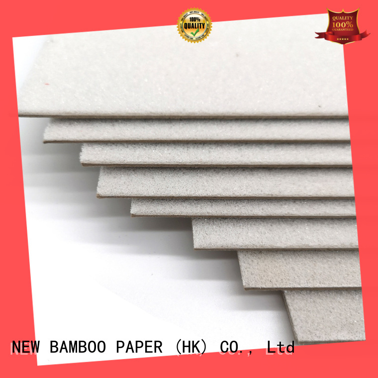 NEW BAMBOO PAPER quality foam board at discount for T-shirt inserts