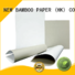 NEW BAMBOO PAPER sheets coated duplex board with grey back for toothpaste boxes