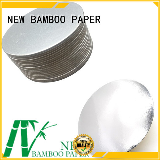 NEW BAMBOO PAPER good-package cake board rounds for packaging