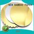 NEW BAMBOO PAPER stiff metallic board paper bulk production for cake board