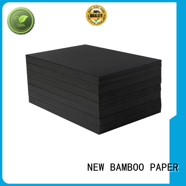 NEW BAMBOO PAPER standard black cardboard sheets widely-use for speaker gasket