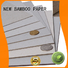 NEW BAMBOO PAPER degradable gray paperboard free design for boxes